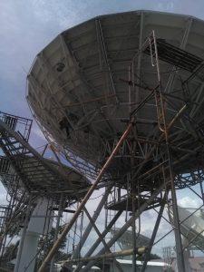 Jasa pengecatan tower dan parabola