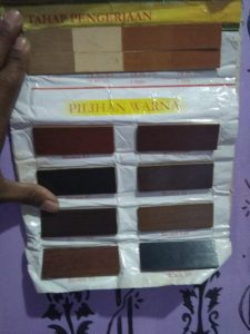 Color choices for melamik